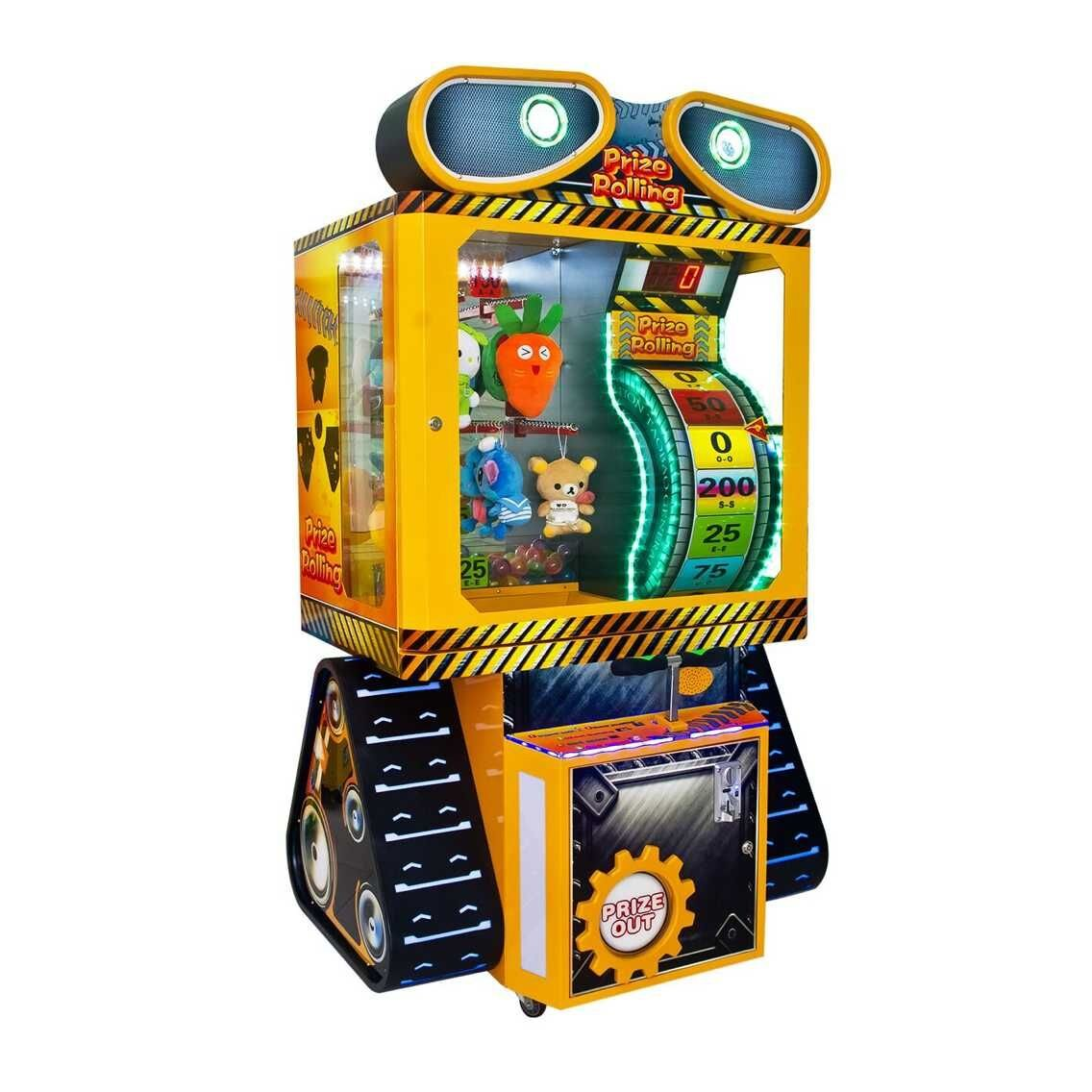 prize rolling gift arcade game machine
