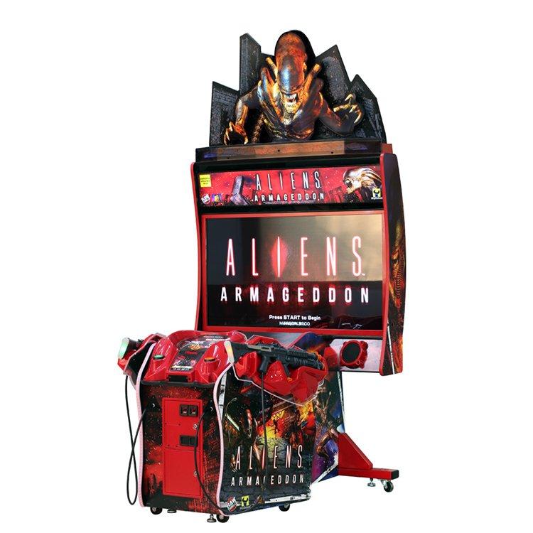 Aliens Armagedoon Shooting Game Machine