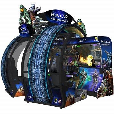 Halo Fireteam Raven Game Machine
