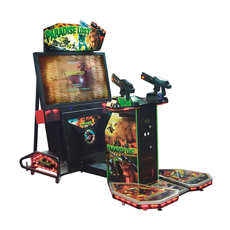 Paradise Lost shooting video game machine