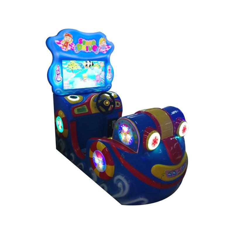 Speed Drive Kids Car Racing Game Machine