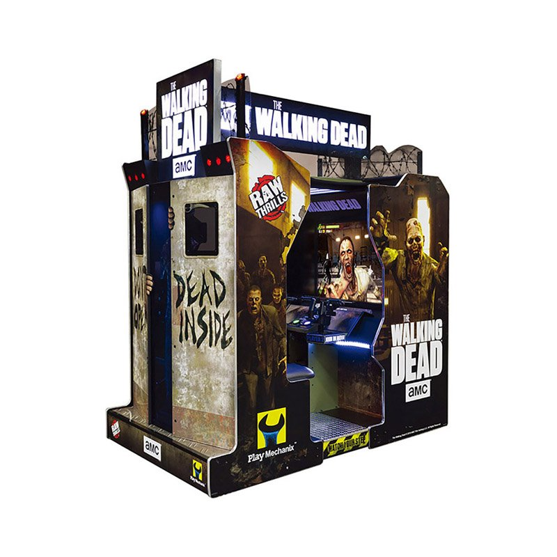The-Walking-Dead-Video-Game-Machine