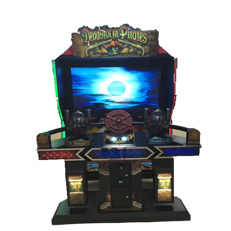 Upright deadstorm pirates shooting game machine