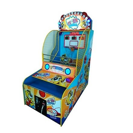 tiger basketball game machine
