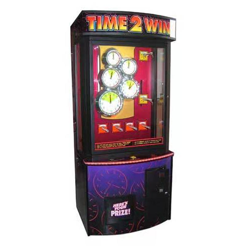 coin operated time 2 win gift game machine