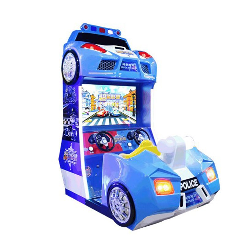 Coin Op Super League Kids Arcade Racing Game Machine For Sale