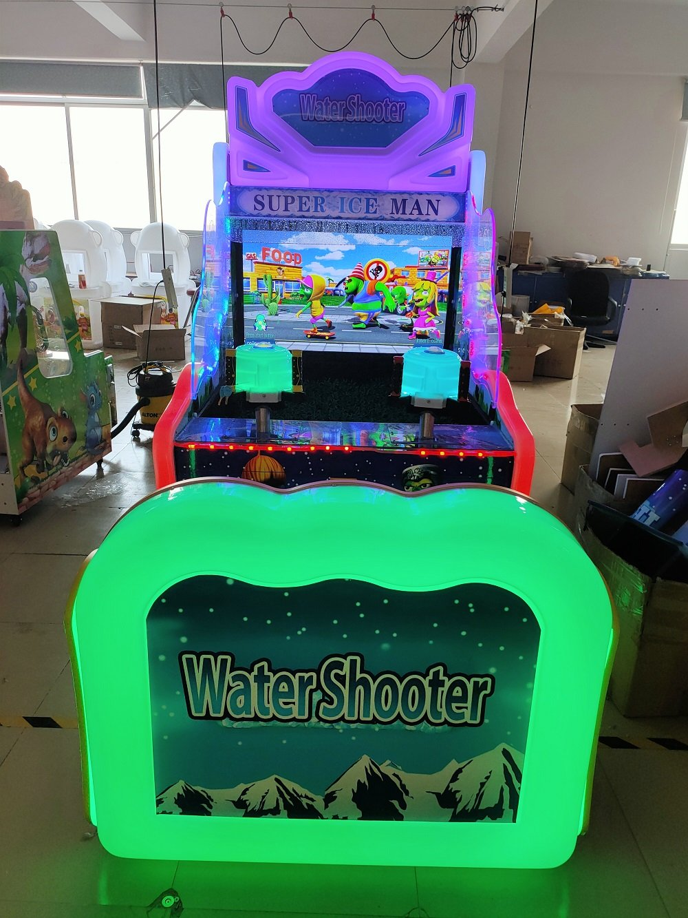 20 In 1 Water Shooting Video Game Machine