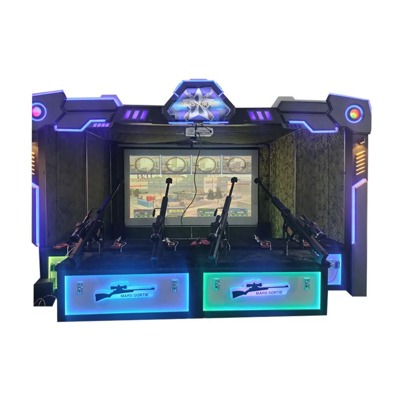 Mars Sortie Sniper Simulator Shooting Gun Video Game Machine