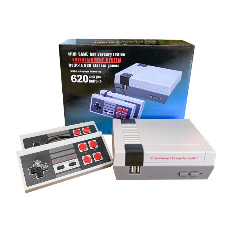 Mini Portable Built-in-620 TV Video Player Game Console