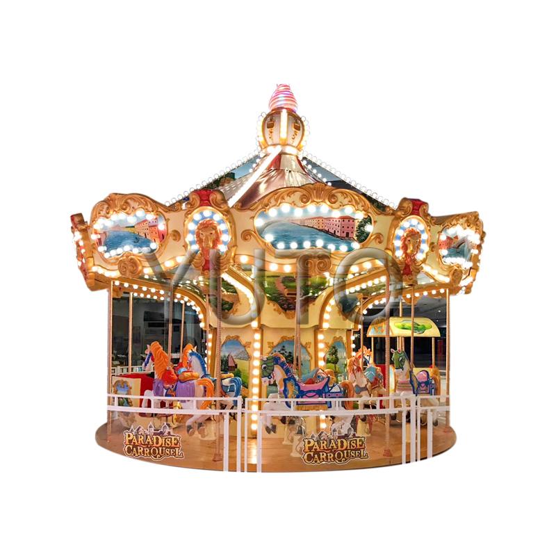 Factory Price Outdoor Ride Art Carousel