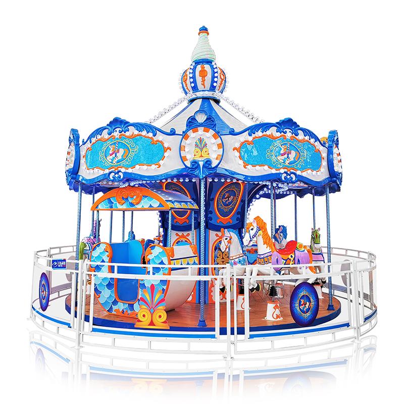 Factory Price Blue Trojan Horse Amusement