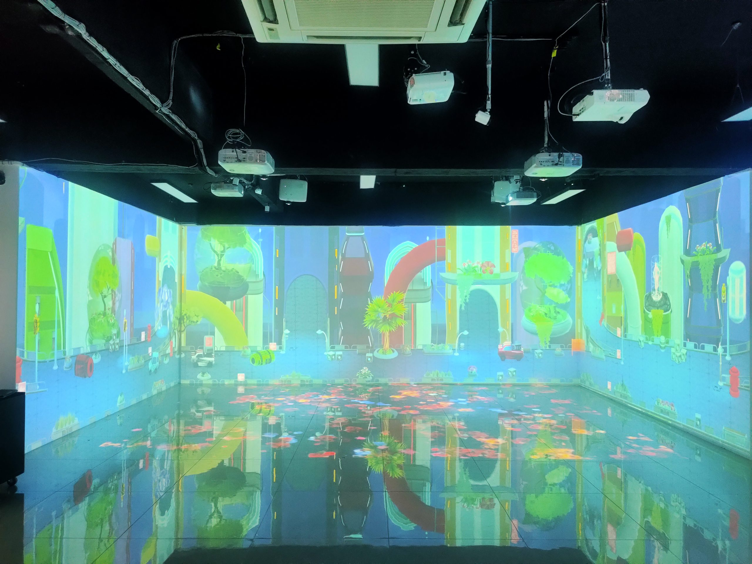 Immersive Projection Game For Sale