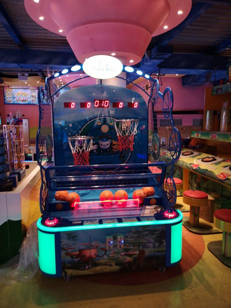 Little Underwater Column Basketball Game Machine