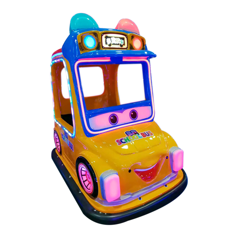 Changeable School Bus Kids Car Game