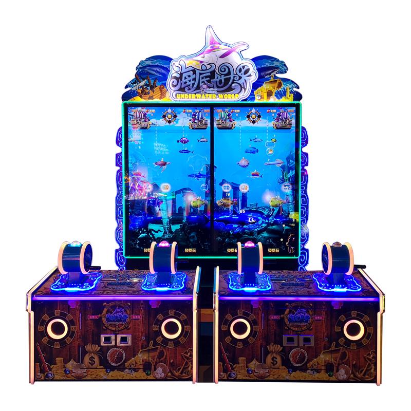 Underwater World Kids Fishing Game Machine