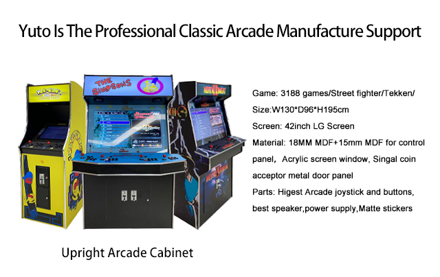 Yuto Is The Professional Classic Arcade Manufacture Support