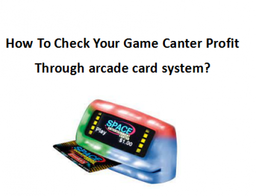 How To Check Your Game Canter Profit Through arcade card system?