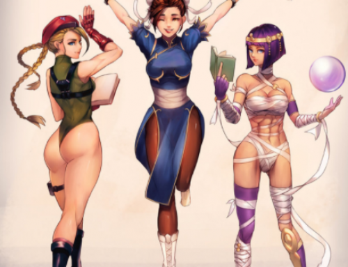 """The Develop Of The Chun-Li Character In 'Street Fighter""""."""