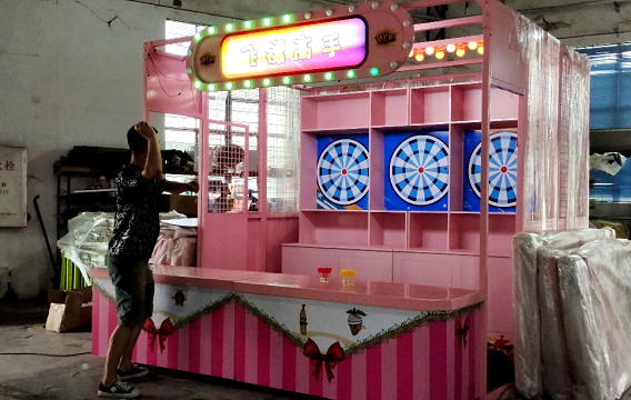 The Iive show for Carnival Booth Game Machine